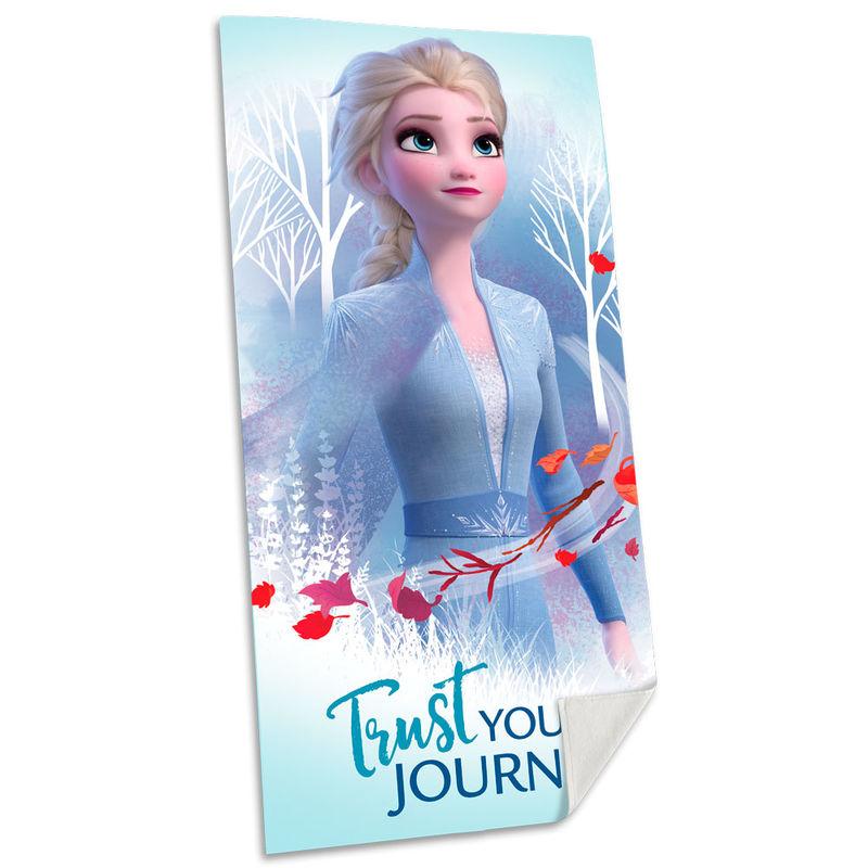 Toalla Elsa Frozen 2 Disney algodon 8435507829328