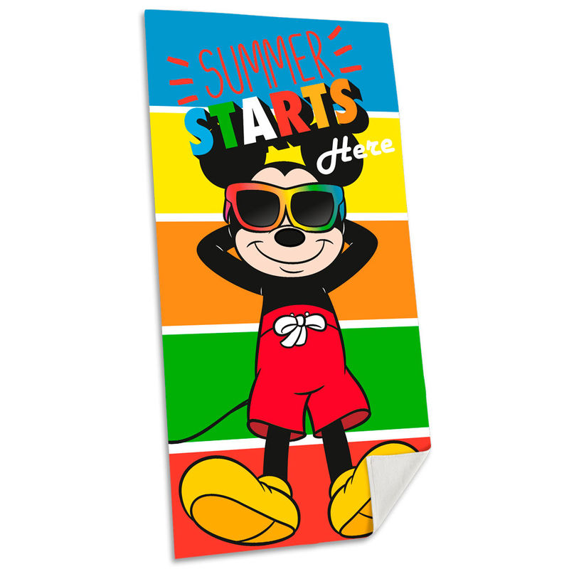Toalla Mickey Disney algodon 8435507829250