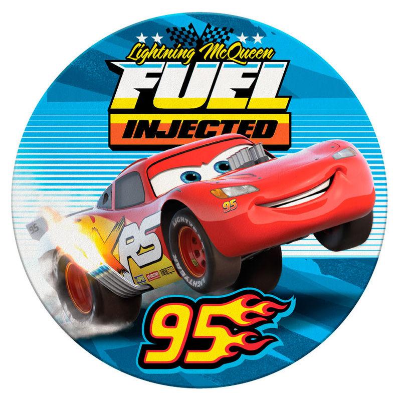 Toalla redonda Cars Disney microfibra