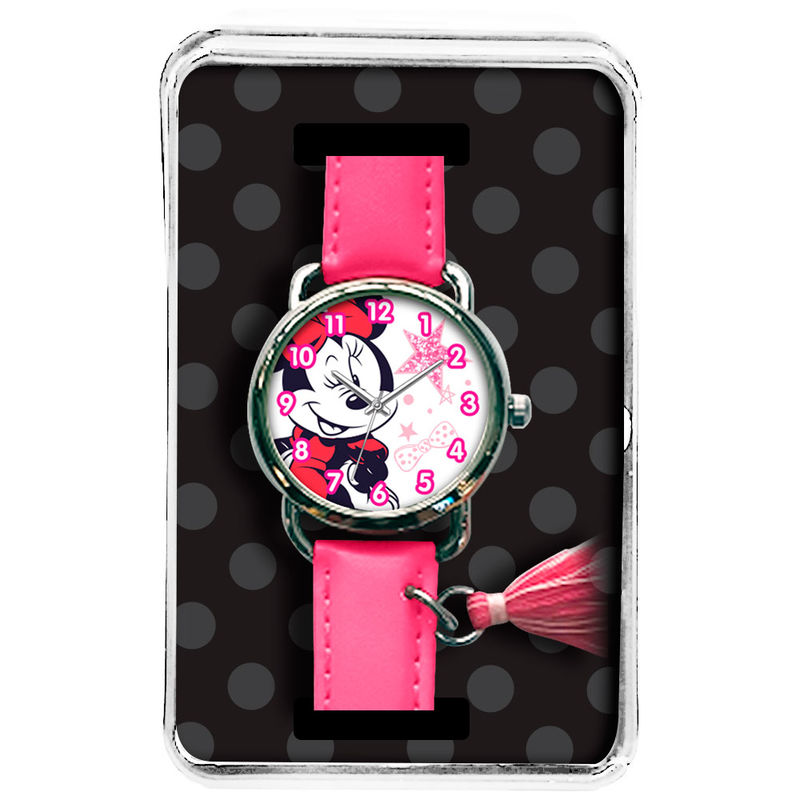 Reloj analogico charm Minnie Disney