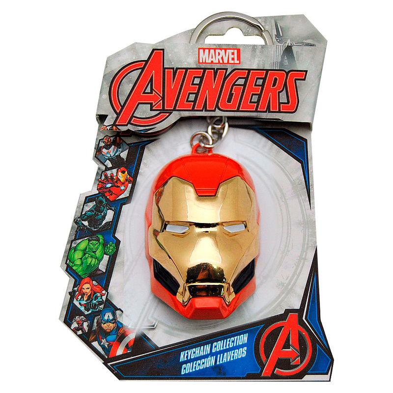Llavero 3D Iron Man Marvel