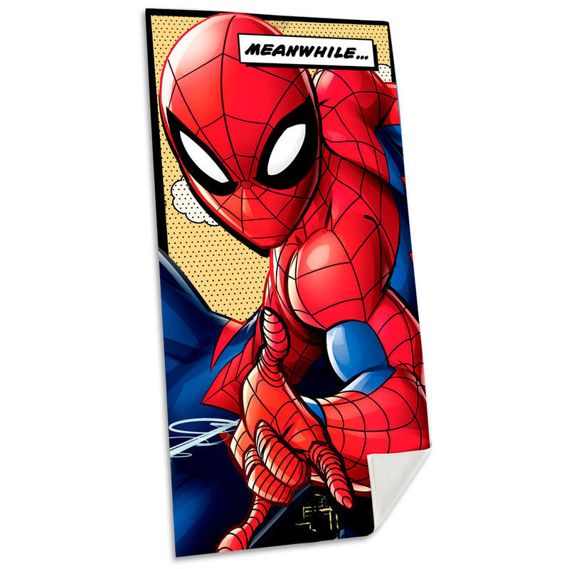 Toalla Spiderman Marvel algodon 8435507830492
