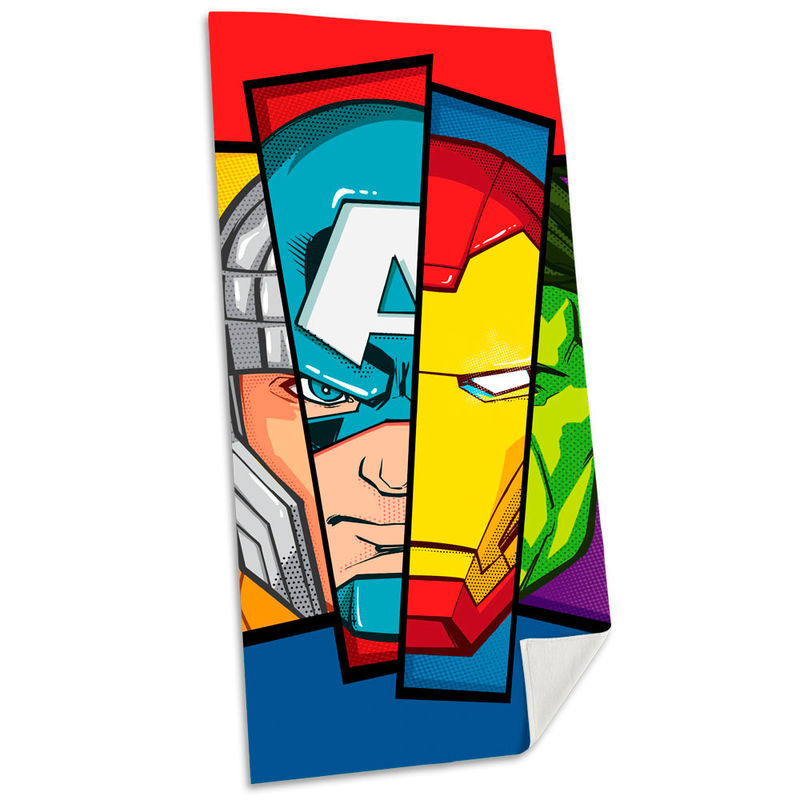 Toalla Vengadores Avengers Marvel algodon 8435507830508
