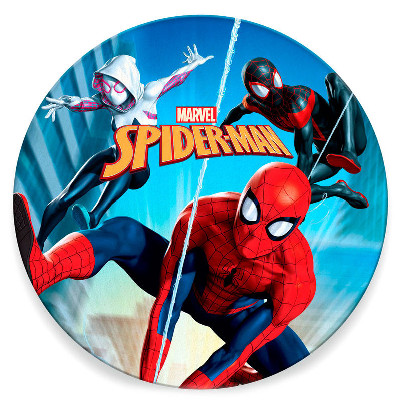 Toalla redonda Spiderman Marvel microfibra