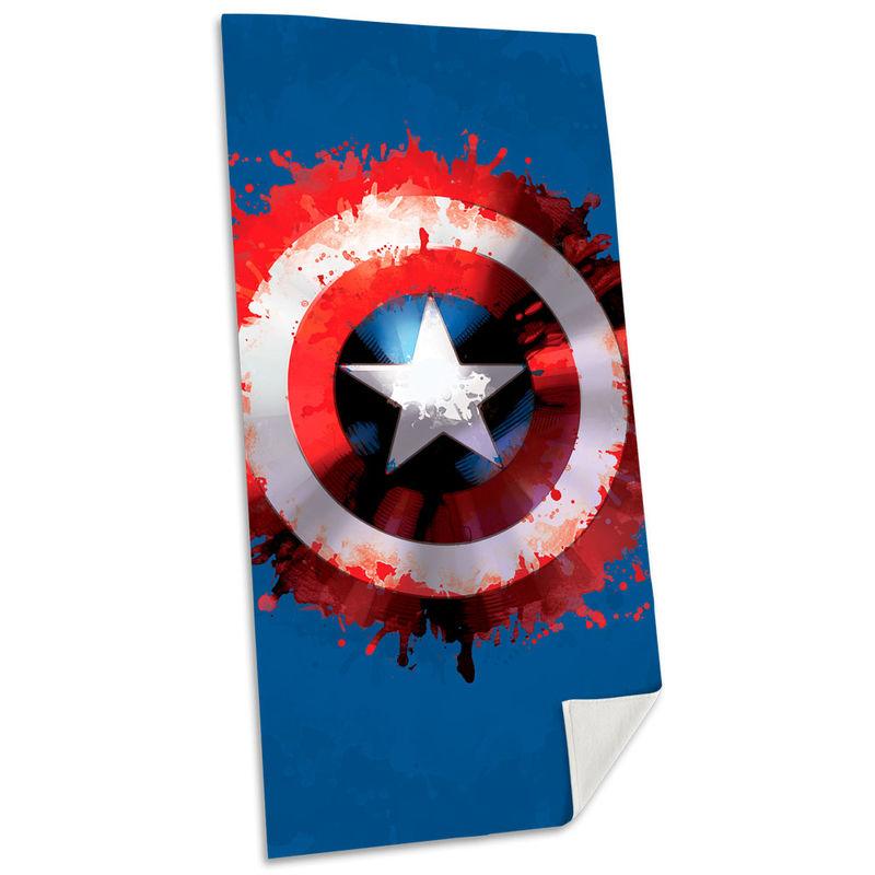 Toalla Capitan America Marvel algodon 8435507830775