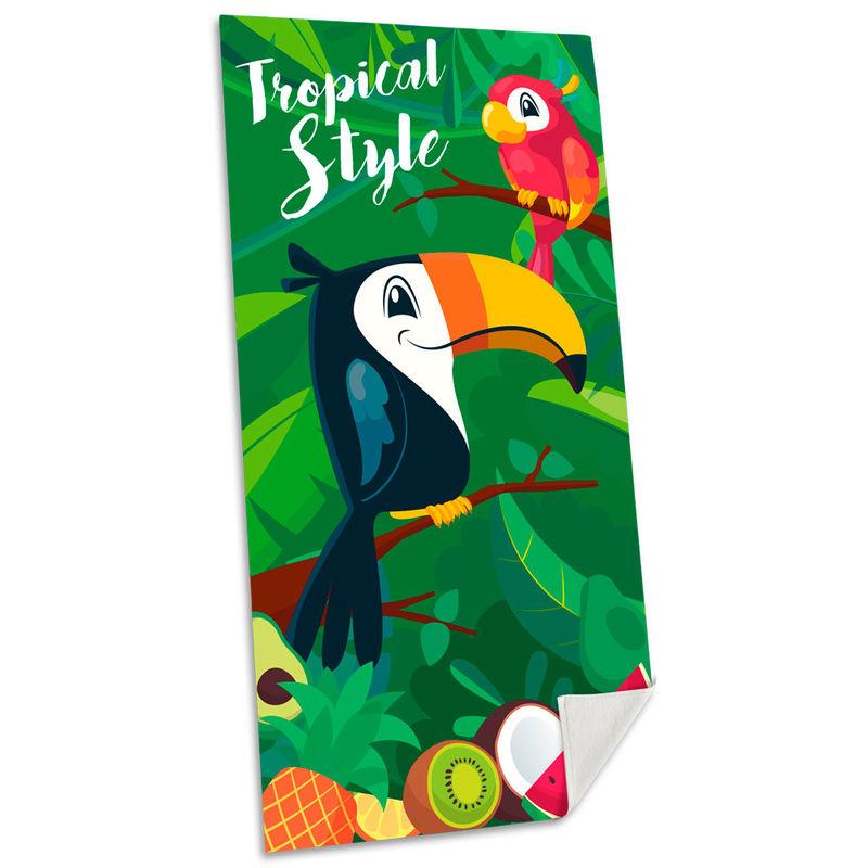Toalla Tucan Tropical Style algodon 8435507828642