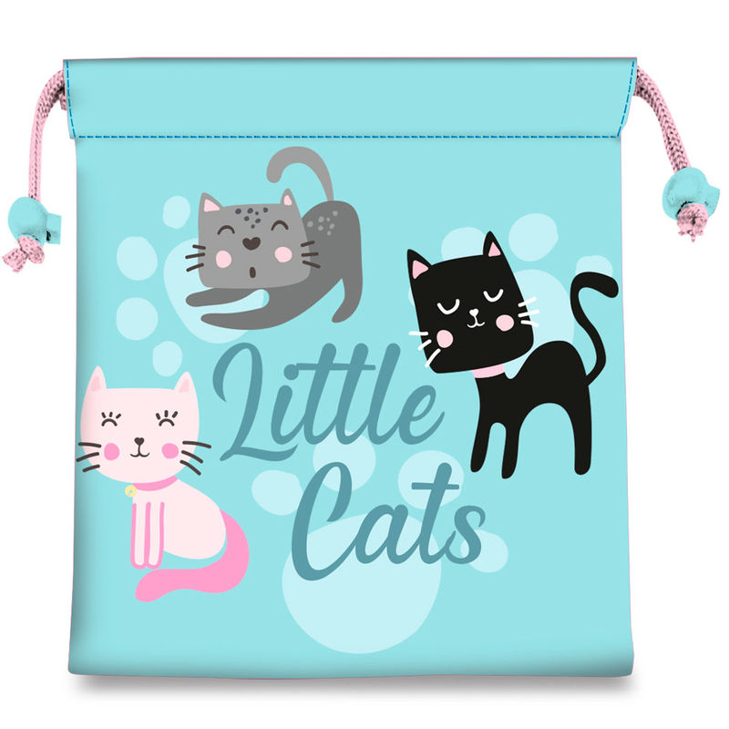Bolsa merienda Little Cats 8435507833400