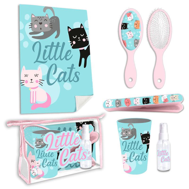 Set neceser aseo Little Cats 8435507833424