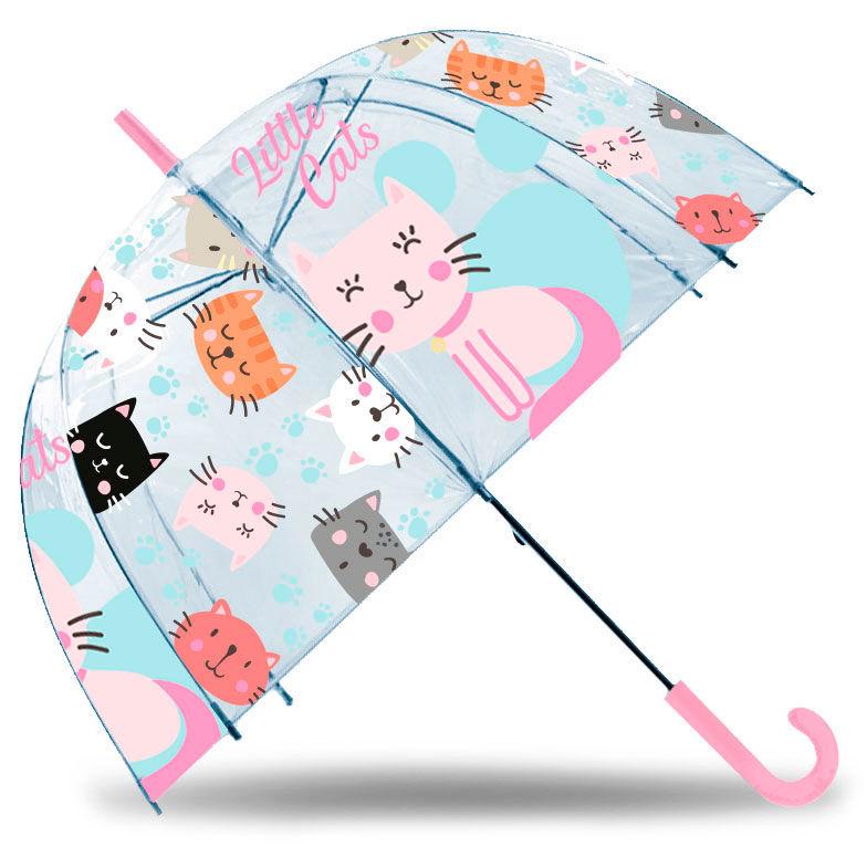 Paraguas burbuja manual Little Cats 47cm 8435507833417