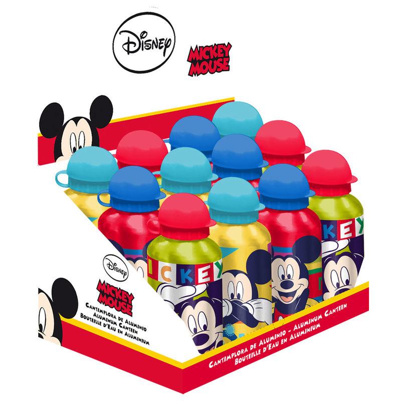 Cantimplora aluminio Mickey Disney surtido 8435507829793