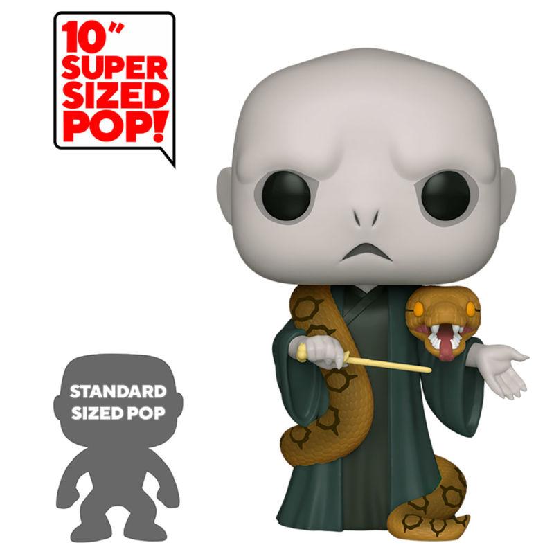 Funko POP o Figura POP Harry Potter Voldemort con Nagini 25cm (2)