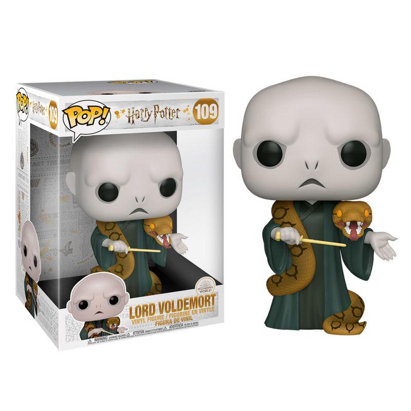 Funko POP o Figura POP Harry Potter Voldemort con Nagini 25cm