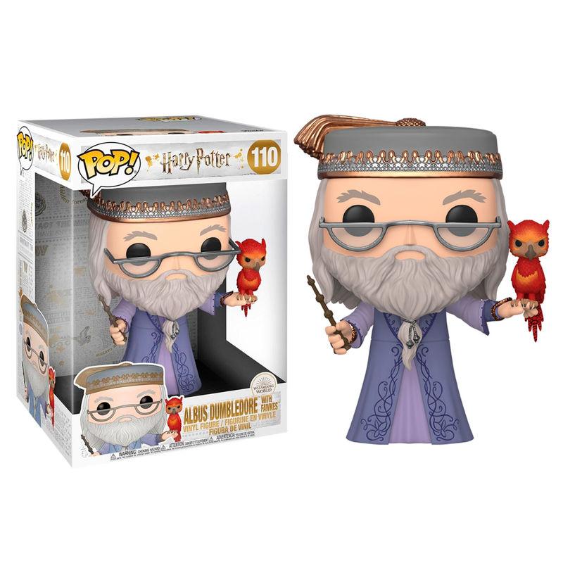 Funko POP o Figura POP Harry Potter Albus Dumbledore con Fawkes 25cm