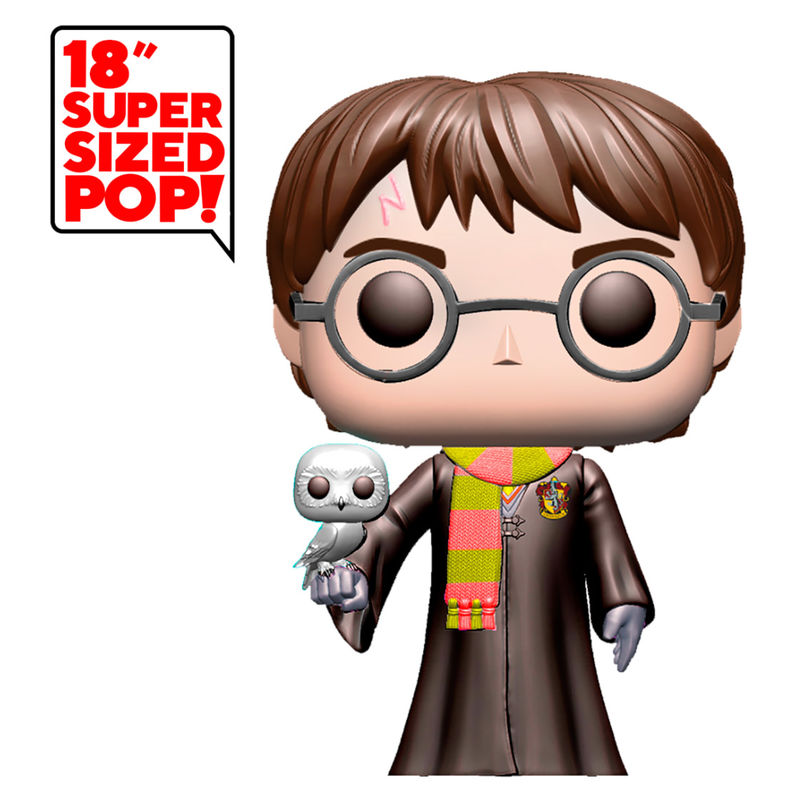 Funko POP o Figura POP Harry Potter con Hedwig 46cm