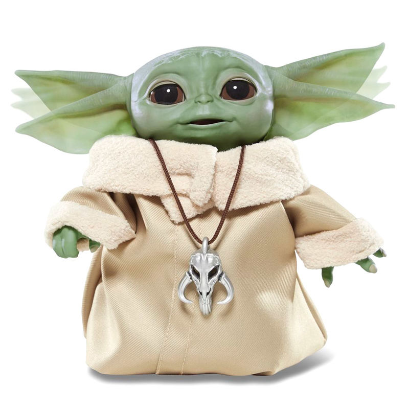 Figura Animatronica Baby Yoda The Child Star Wars The Mandalorian By Hasbro (2)
