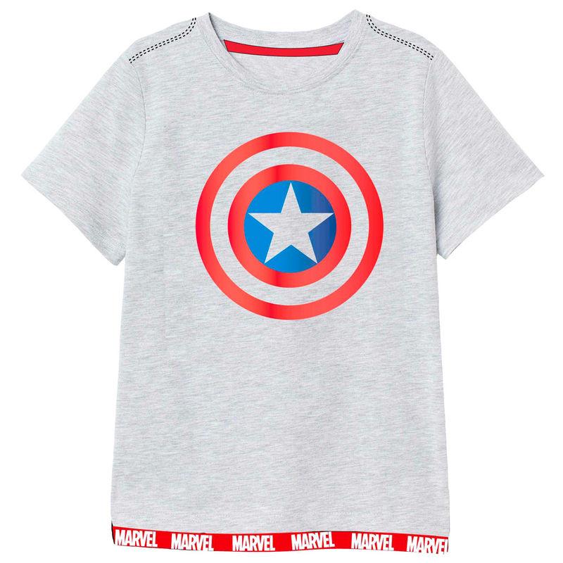 Camiseta Capitan America Vengadores Avengers Marvel 5908213366324
