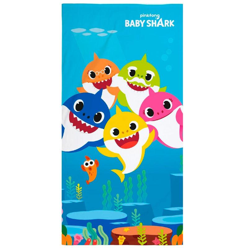 Toalla Baby Shark microfibra 5902729047906