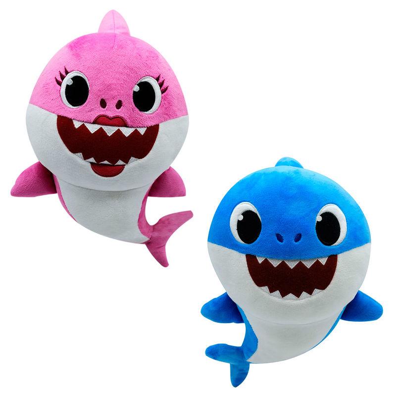 Peluche musical Baby Shark 32cm surtido 3296580925117