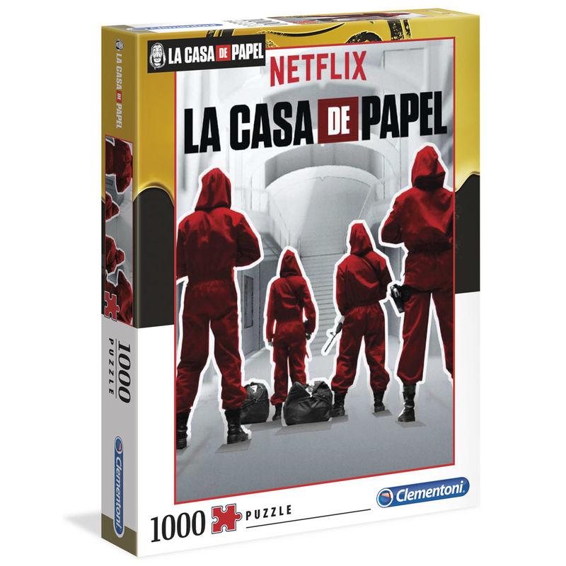 Puzzle La Casa de Papel 1000pz 8005125395323