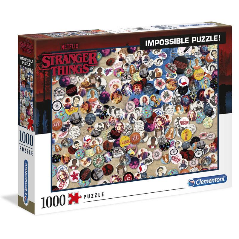 Puzzle Imposible Chapas Stranger Things 1000pcs 8005125395286