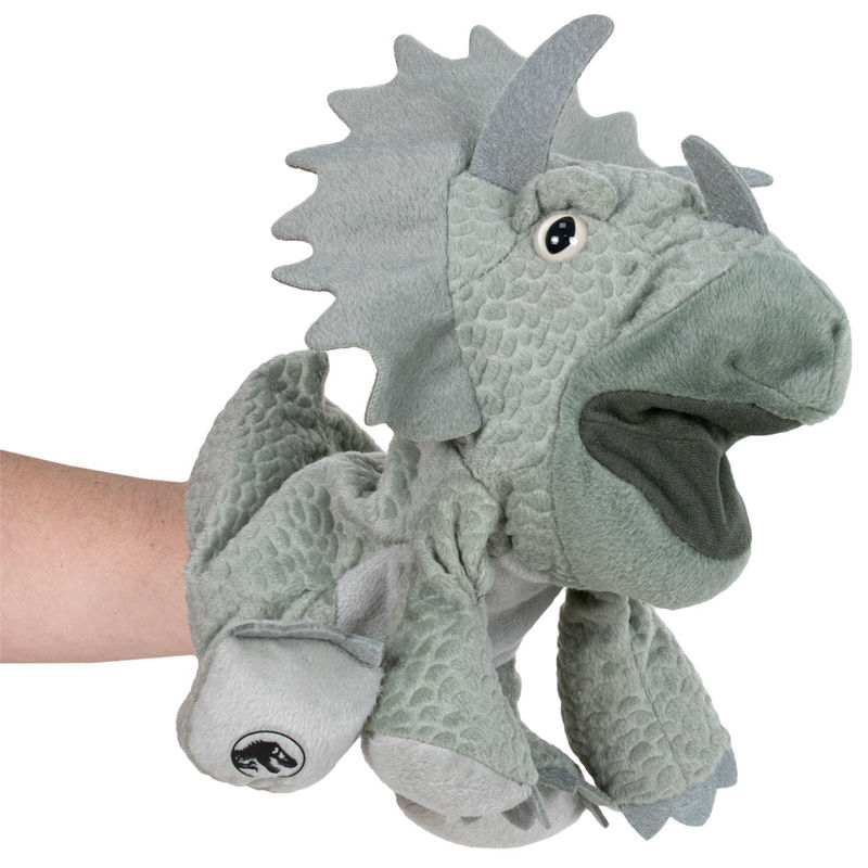 Aurora Monkey Stuffed Animal, Jurassic World Triceratops Hand Puppet Plush Toy 25cm