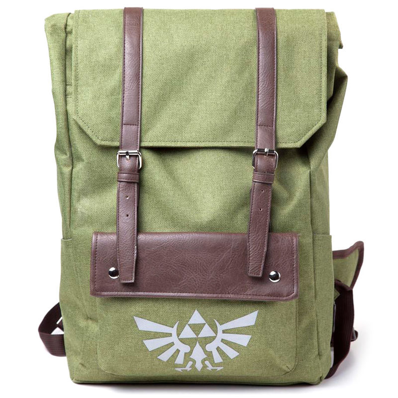 Mochila Link Hooded Canvas Zelda Nintendo