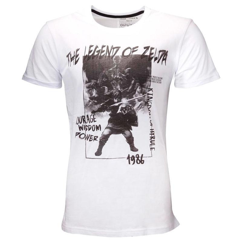 Camiseta Triforce Hero Zelda Nintendo 8718526288155