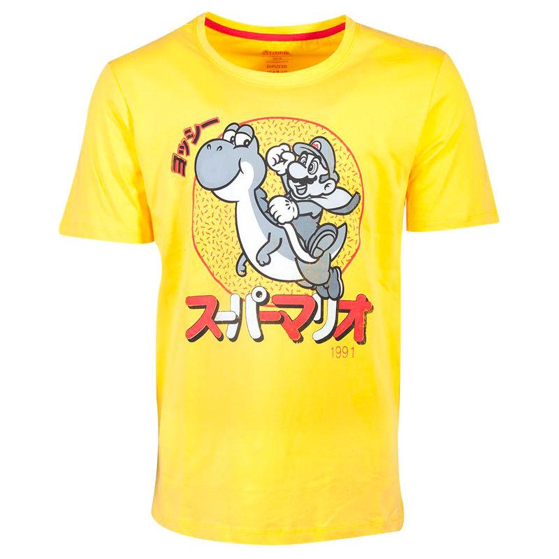 Camiseta Mario and Yoshi Super Mario Nintendo 8718526288612