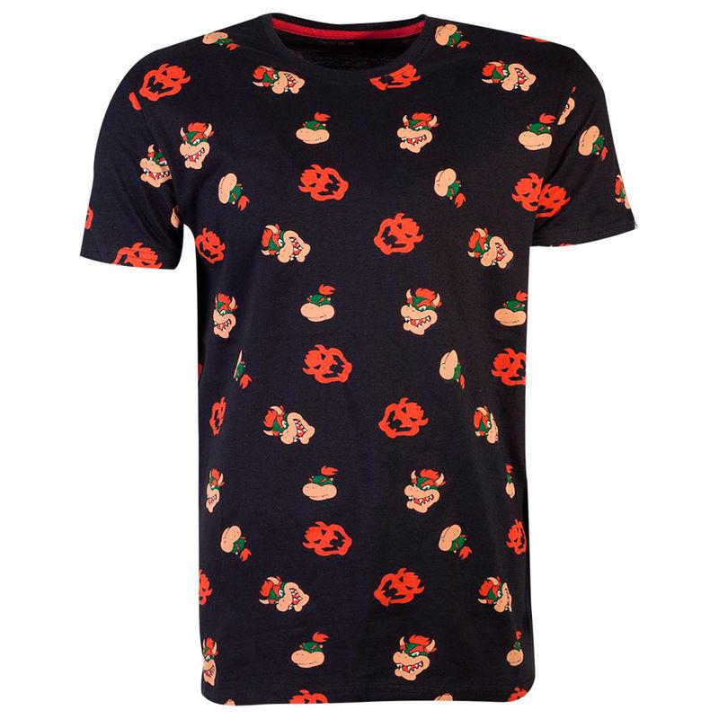 Camiseta Bowser Super Mario Nintendo 8718526115185