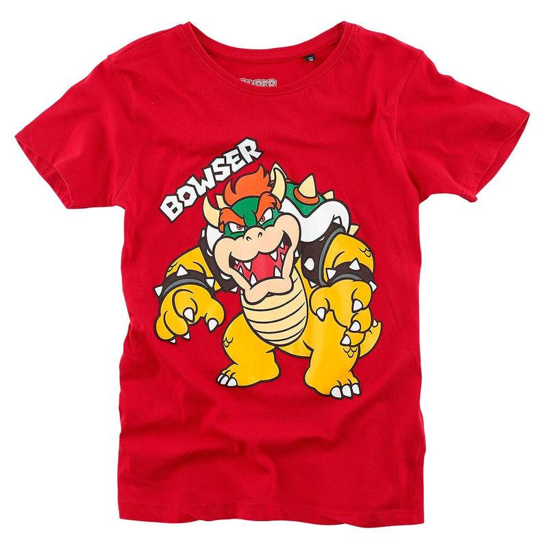 Camiseta Kids Bowser Super Mario Nintendo 8718526311150
