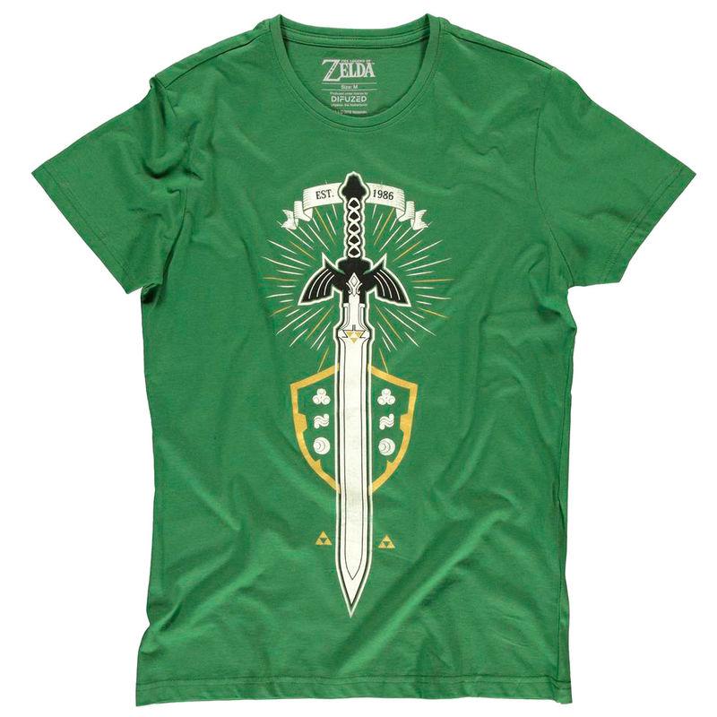 Camiseta The Master Sword Zelda Nintendo 8718526301779