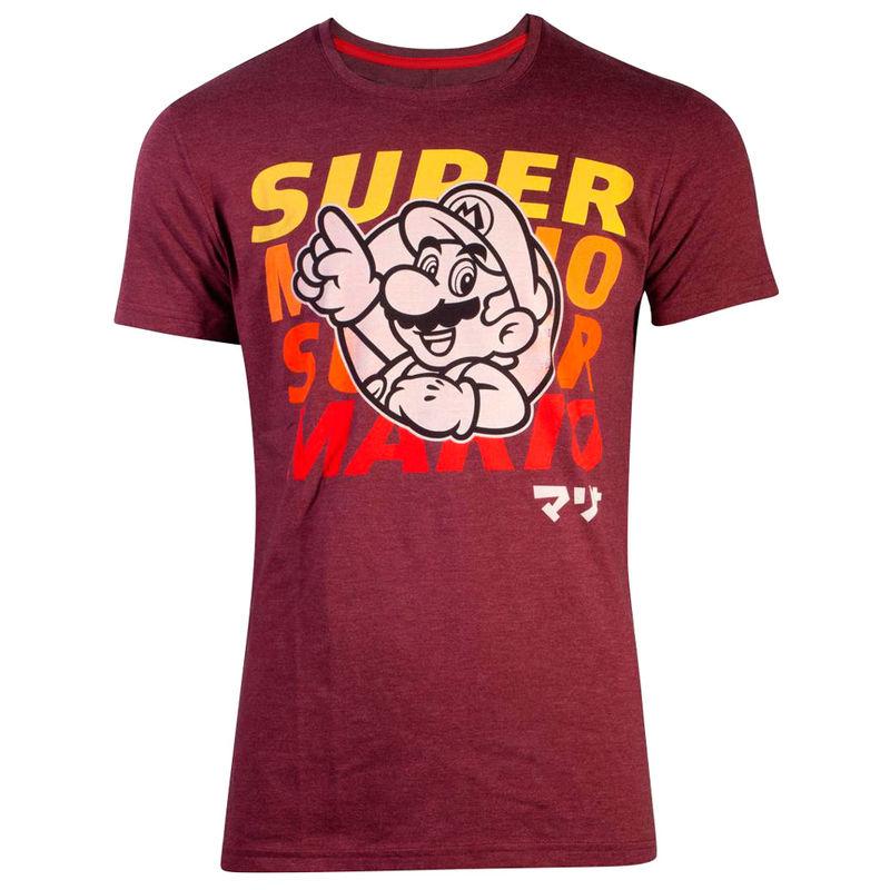 Camiseta Mario Super Mario Nintendo 8718526296228