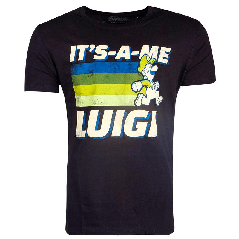 Camiseta Luigi Super Mario Nintendo 8718526313581