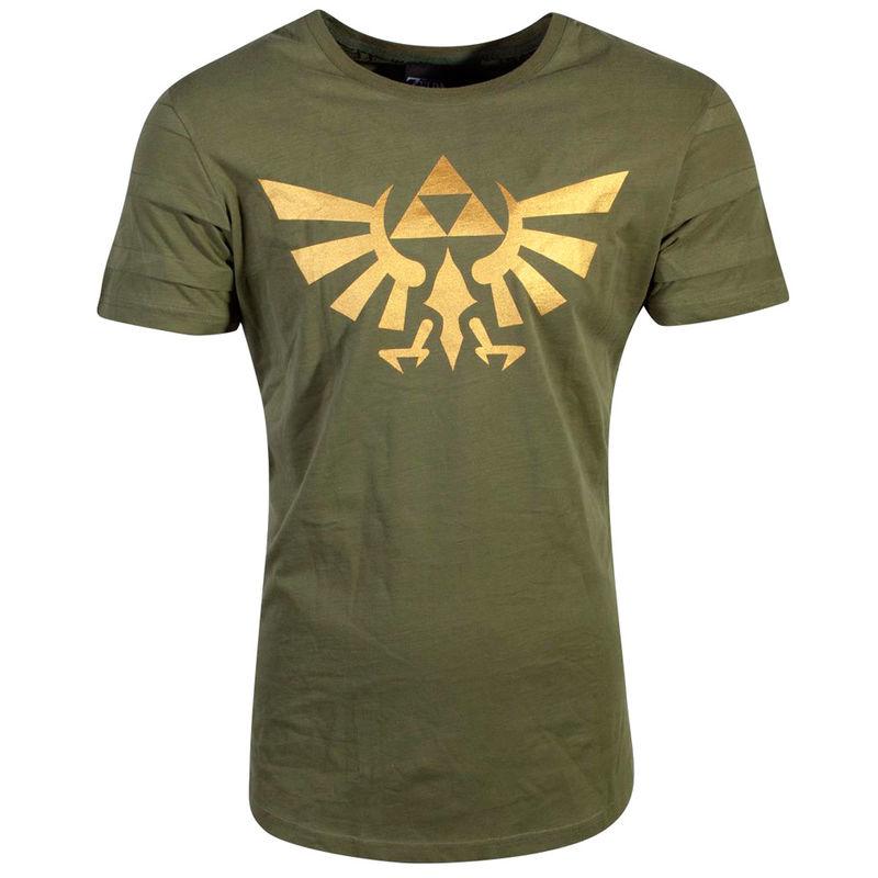 Camiseta Hyrule Pintuck Long Line Zelda Nintendo 8718526272055