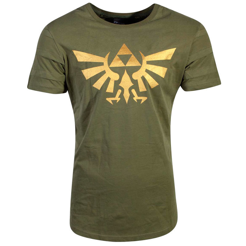Camiseta Hyrule Pintuck Long Line Zelda Nintendo 8718526272079