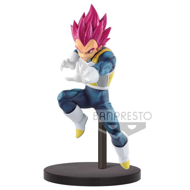 Figura Super Saiyan God Vegeta Chosenshiretsuden II vol. 3 Dragon Ball Super 13cm 4983164165159