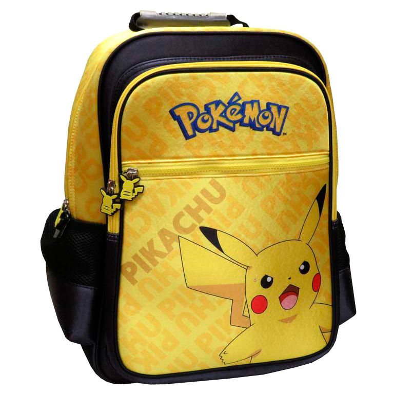 Mochila Pikachu Pokemon adaptable 41cm