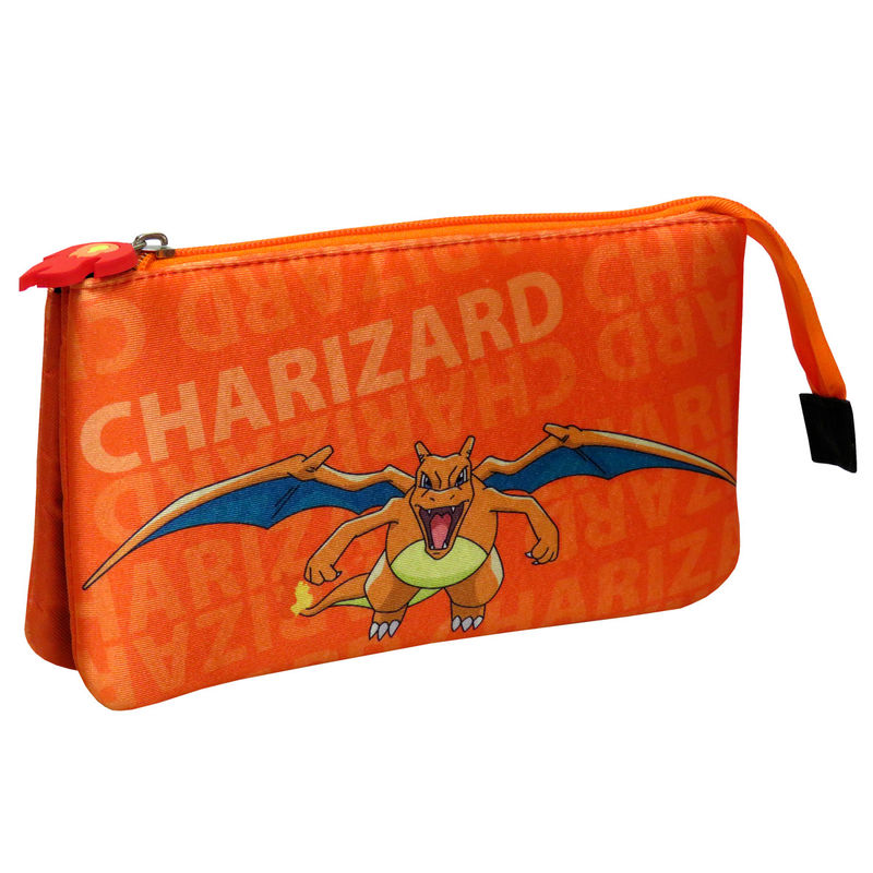 Portatodo Charizard Pokemon triple