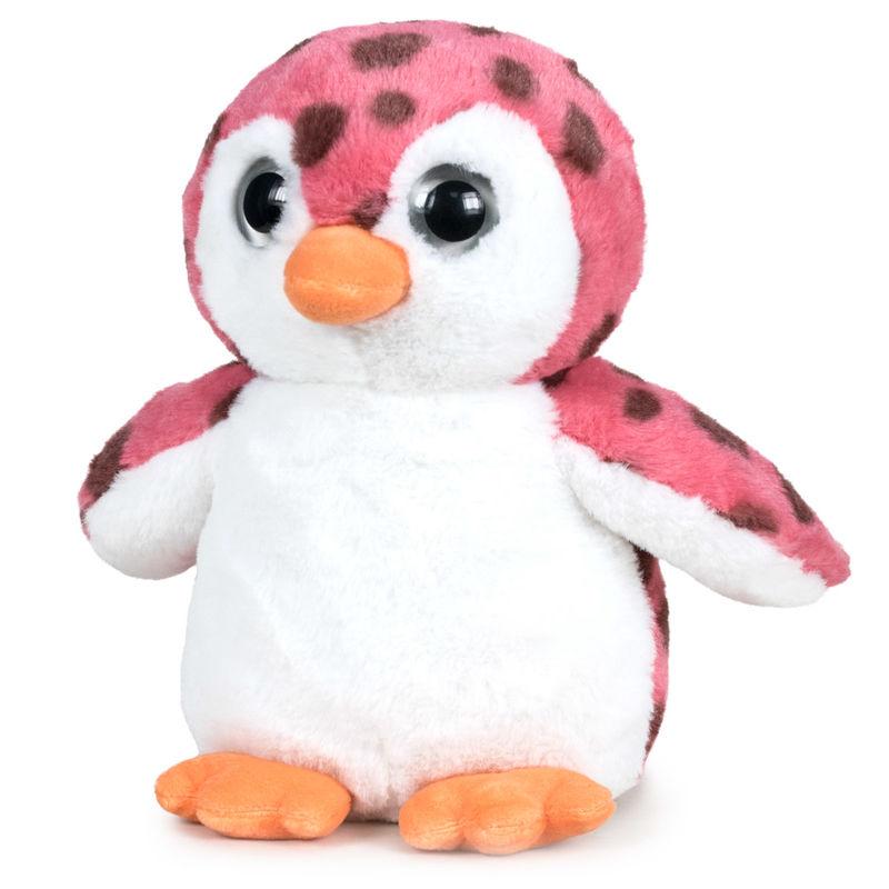 Peluche Pinguino Ojos Luz soft 34cm 8425611387517pinguino