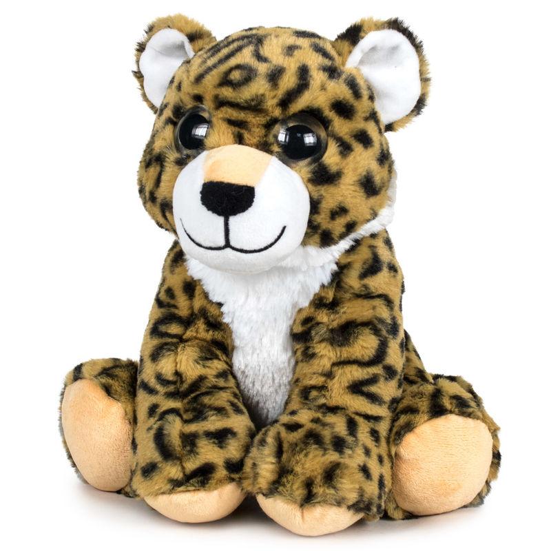 Peluche Leopardo Ojos Luz soft 28cm 8425611387524Leopardo