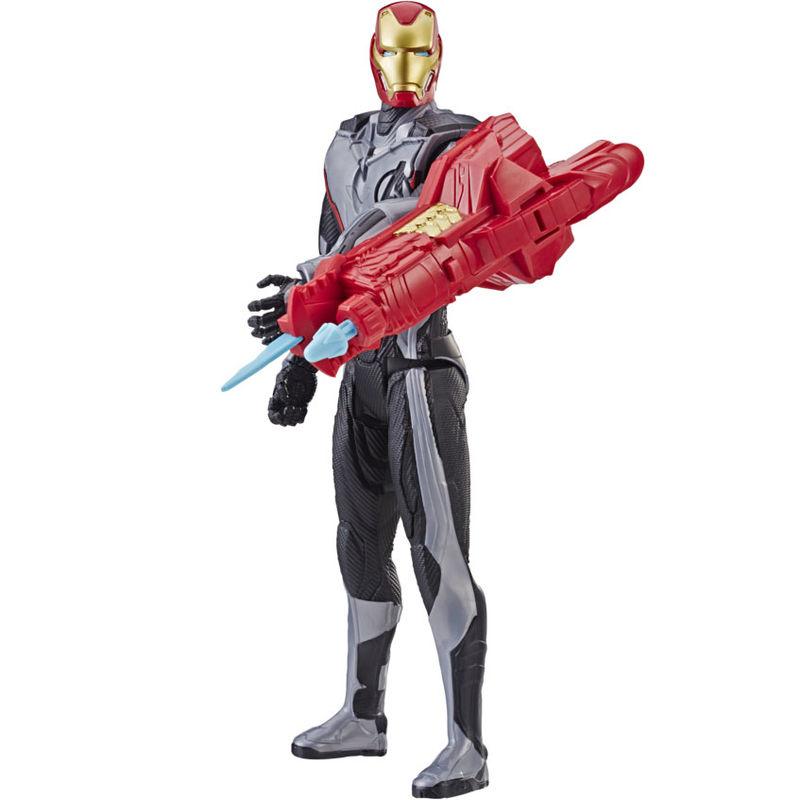 Figura Titan Hero Power Iron Man Vengadores Marvel 30cm By Hasbro