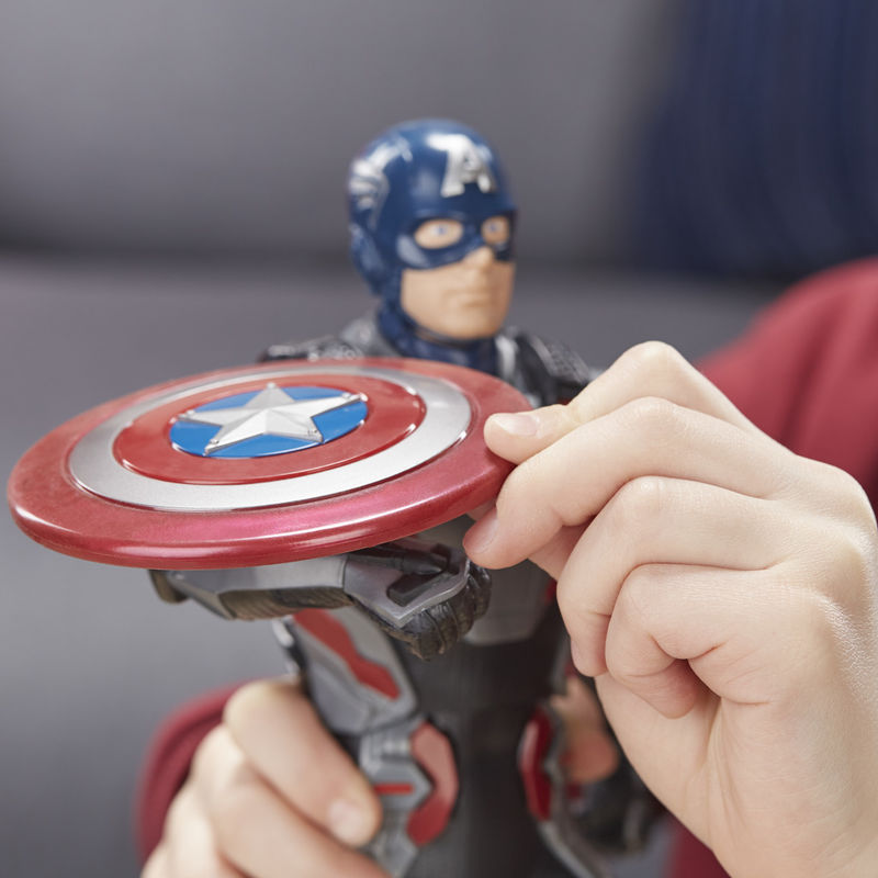 Figura electronica Capitan America Vengadores Marvel 33cm By Hasbro