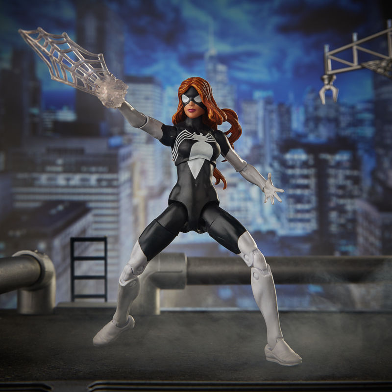 Figura Spider Woman Spiderman Marvel Legend Series 15cm By Hasbro