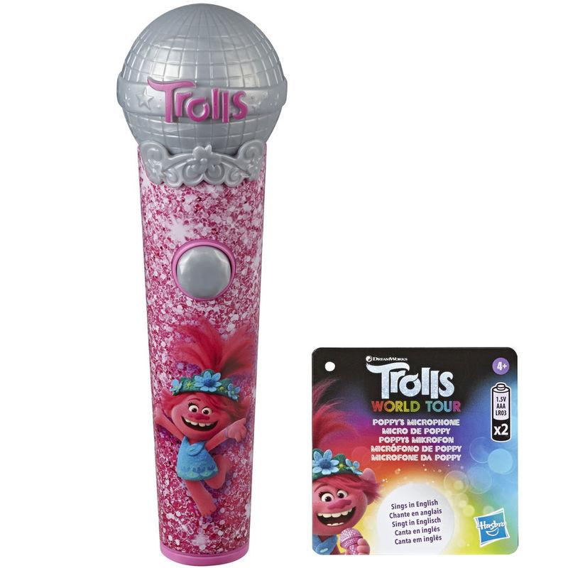 Microfono Poppy Trolls World Tour By Hasbro