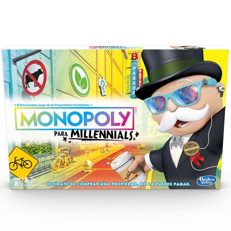 Juego Monopoly Millennials 5010993624737