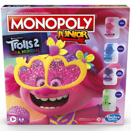 Juego Monopoly Junior Trolls World Tour