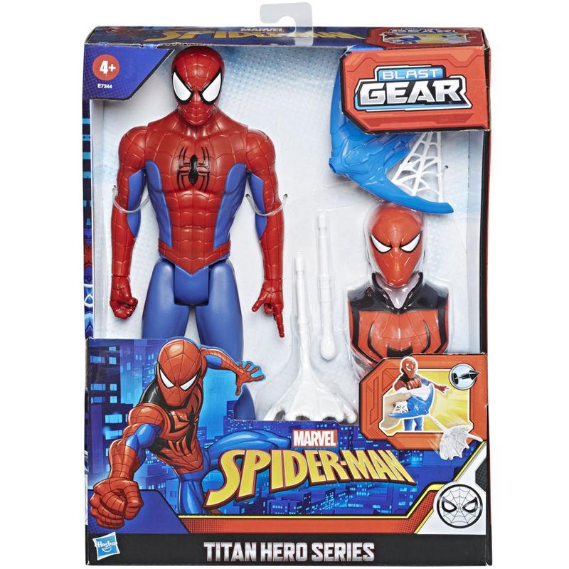 Figura Titan Hero Series Spiderman Marvel 30cm By Hasbro