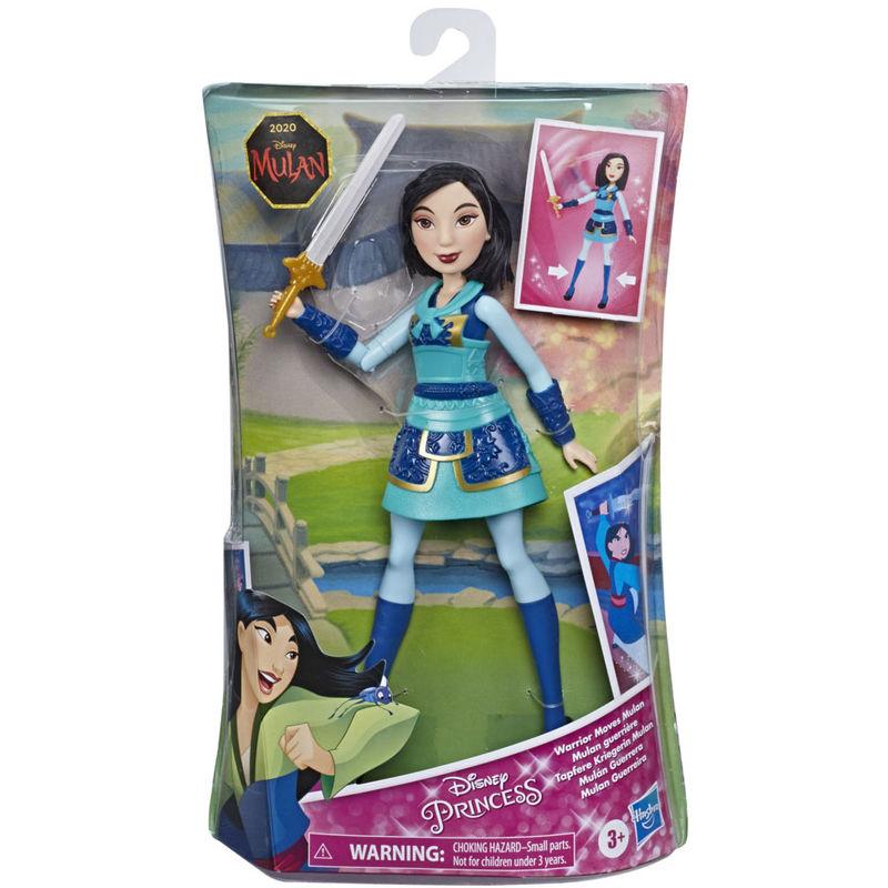 Muñeca Mulan Guerrera Mulan Disney By Hasbro