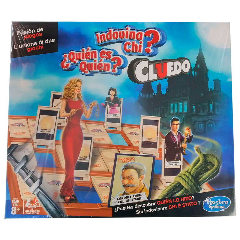 Juego de Mesa Cluedo Quien es Quien By Hasbro