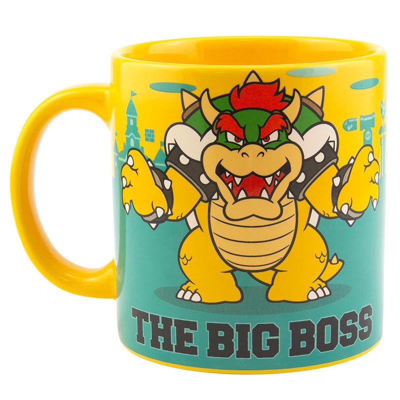 Taza XL Bowser Super Mario Bros